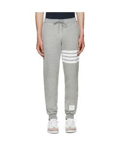 Thom Browne | Grey Classic 4 Bar Lounge Pants