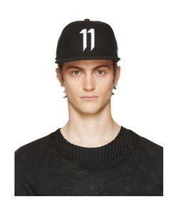 11 BY BORIS BIDJAN SABERI | Black Logo 11 Cap
