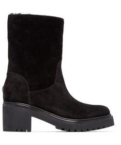 Moncler | Black Suede Cassandre Boots
