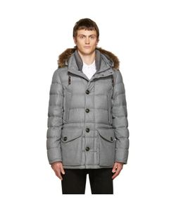 Moncler | Grey Down Rethel Jacket
