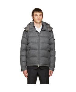 Moncler | Grey Down Mongenevre Jacket