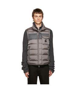 Moncler | Grey Down Athos Vest