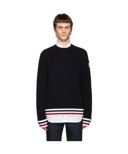 Moncler Gamme Bleu | Navy Striped Sweater