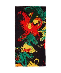 Writtenby | Multicolor Floral Knit Scarf