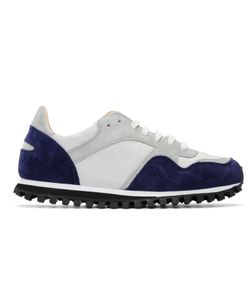 SPALWART | Blue And Grey Marathon Trail Sneakers