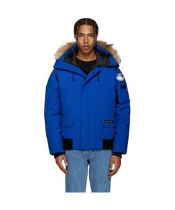 Canada Goose | Blue Down Pbi Chilliwack Jacket