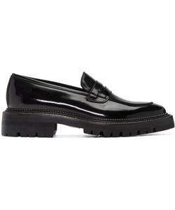Yang Li | Black Classic Penny Loafers