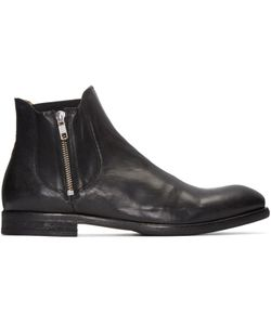 H By Hudson | Black Mitchell Boots
