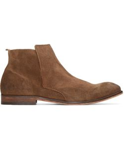 H By Hudson | Brown Suede Lennox Boots