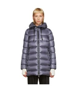 Moncler | Grey Down Suyen Coat