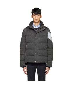 Moncler Gamme Bleu | Grey Quilted Down Jacket
