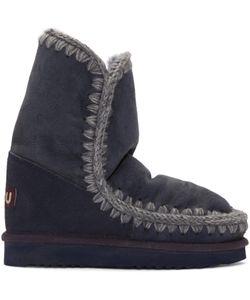 Mou | Navy Eskimo 24 Boots