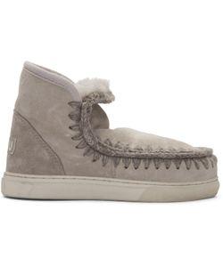 Mou | Taupe Mini Eskimo Boots