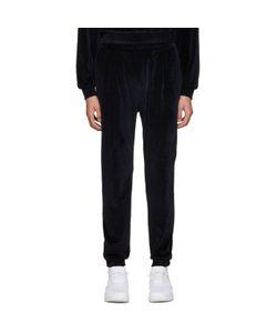 Sunnei | Navy Velour Lounge Pants