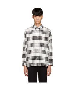 Tomorrowland | White Flannel Check Shirt