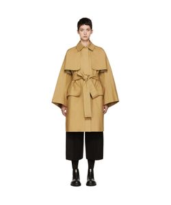 Cyclas | Tan Oversized Trench Coat