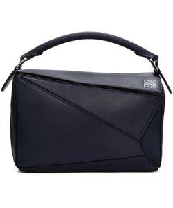 Loewe | Navy Small Puzzle Bag