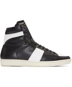 Saint Laurent | Black Sl-10 Court Classic Sneakers