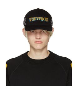 Moncler O   Black Whitewidow Baseball Cap