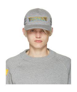 Moncler O   Grey Whitewidow Baseball Cap