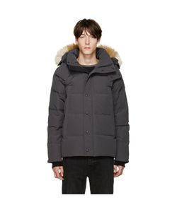 Canada Goose | Grey Down And Fur Jacket
