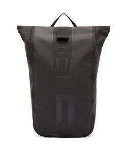 11 BY BORIS BIDJAN SABERI | Black Roll-Top Velocity Backpack