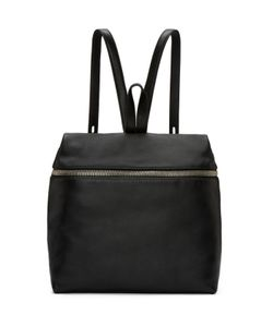 KARA | Black Leather Backpack