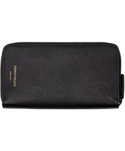 Woman By Common Projects | Black Large Zipper Wallet