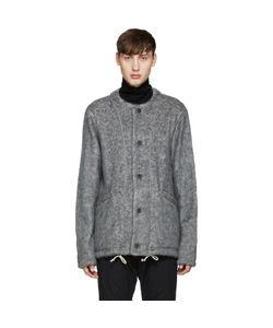 08SIRCUS | Grey Collarless Jacket