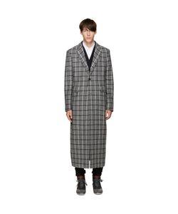 Pyer Moss | Wool Check Coat