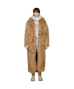Pyer Moss | Long Faux Fur Coat