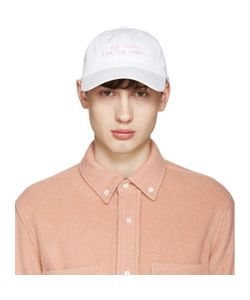 NASASEASONS | Ssense Exclusive White I Am Yours Cap
