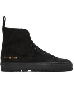 Woman By Common Projects | Ssense Exclusive Tournament High-Top Sneakers