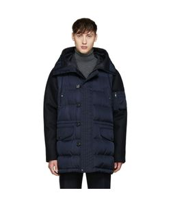 Moncler | Navy Montemart Down Jacket