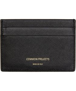Woman By Common Projects | Black Leather Multi Card Holder