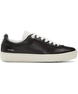 Courreges | Courrèges Black Leather Sneakers