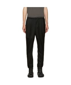D.Gnak By Kang.D | Cropped Eyelet Trousers