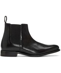 Grenson | Black Leather Declan Chelsea Boots