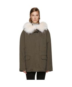 Army by Yves Salomon | Short Classic Parka