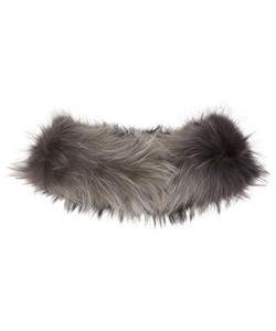 Yves Salomon | And Grey Raccoon Fur Collar Scarf