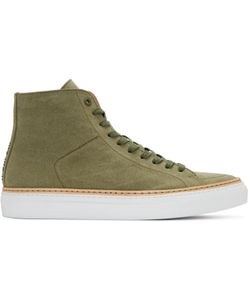 No.288 | Canvas Mulberry High-Top Sneakers
