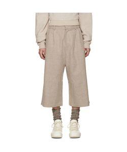 D BY D | Wide-Leg Wool Trousers
