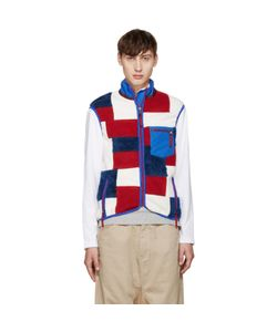 ganryu | Fleece Patchwork Vest