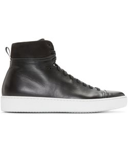 John Elliott | Leather High-Top Sneakers