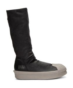 Rick Owens | Adidas Edition Mastodon Stretch Boot High-Top Sneakers