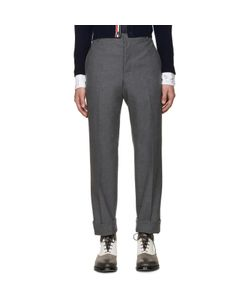 Thom Browne | Uncuffed Trousers