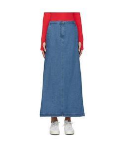 SJYP | Denim Flared Skirt