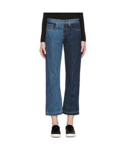 Rag & Bone   Rag And Bone Two-Tone Crop Jeans