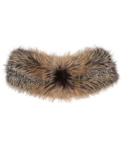 BROCK COLLECTION | And Brown Fur Scarf