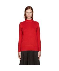 Hyke   Mock Neck Sweater
